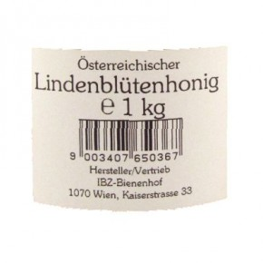 Lindenblütenhonig 1kg IBZ