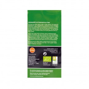 Organico Bio Kaffee mild vakuumverpackt 250g EZA