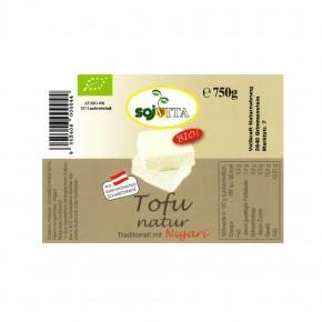 Bio Tofu natur  750g Sojvita