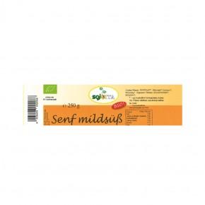 Bio Senf mildsüß 250g Sojvita