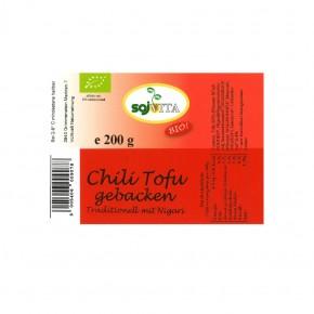 Bio Chili Tofu gebacken  200g Sojvita