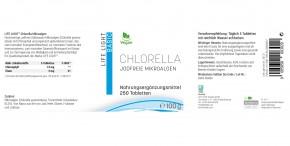 Chlorella Mikroalgen Tabletten 250Stk