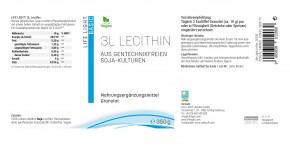 Lecithin 3L, Granulat 350g