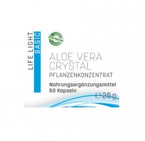 Aloe Vera Crystal, 50 Kapseln