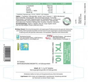 TX | 10, 22 mg NADH + Tryptophan, 30 Lutschpastillen