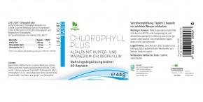 Chlorophyll plus, 60 Kapseln