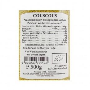 Bio Couscous 500g Natur & Reform