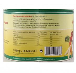 Klare Delikatess-Suppe 400g Biofit