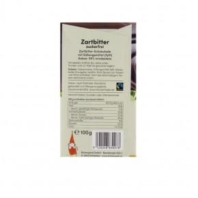 Schokolade Zartbitter 100g Birkengold