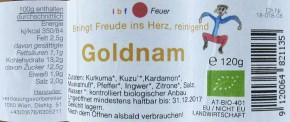 Goldnam bio 120g TCM Produkt