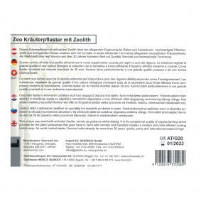 ZEO Kräuterpflaster mit Zeolith 10Stk. Kenrico