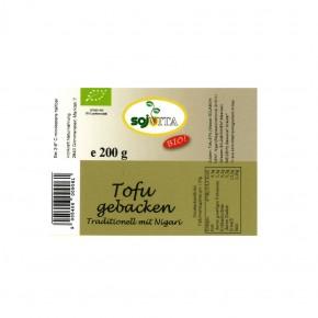 Bio Tofu gebacken 200g Sojvita